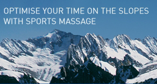 Optimise your time on the slopes with winter sports massage